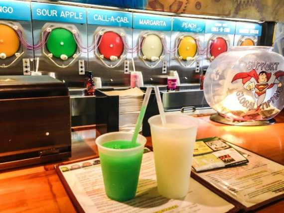 Savannah, Georgia: Slushies and Southern Food