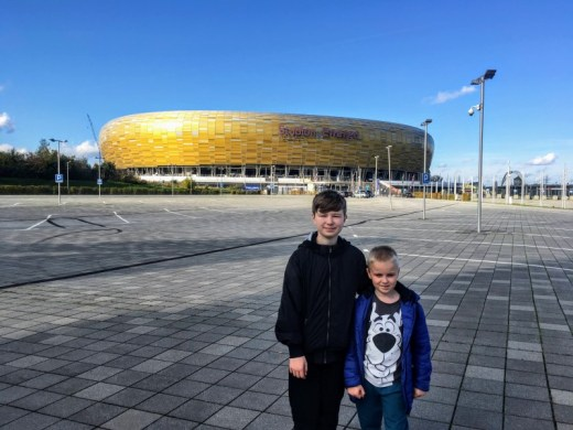 Gdansk for Kids: Stadion Energa Fun Arena