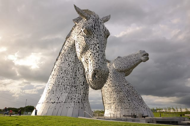 The Kelpies @ Helix Park, Falkirk