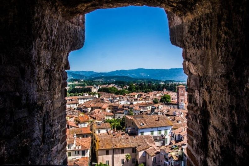 A Day in Lucca: Tuscan Diary