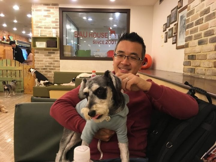 Seoul, South Korea: Drinks and Doggos at Bau House Cafe